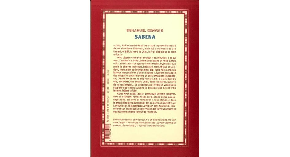 Sabena, d'Emmanuel Genvrin